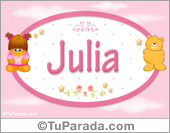 Julia - Nombre para bebé