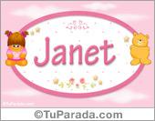 Janet - Nombre para bebé