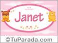 Nombre para bebé, Janet