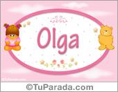Olga - Nombre para bebé