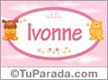 Nombre para bebé, Ivonne