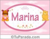 Marina - Nombre para bebé