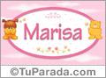 Nombre para bebé, Marisa