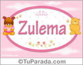 Zulema - Nombre para bebé