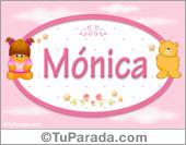 Mónica - Nombre para bebé