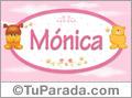 Nombre para bebé, Mónica