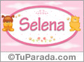 Nombre para bebé, Selena