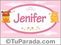 Nombre para bebé, Jenifer