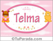 Telma - Nombre para bebé