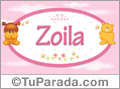 Nombre para bebé, Zoila