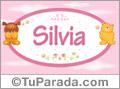 Silvia - Nombre para bebé