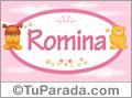 Nombre para bebé, Romina