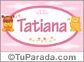 Nombre para bebé, Tatiana