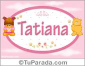 Tatiana - Nombre para bebé