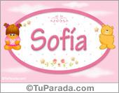 Sofia - Nombre para bebé