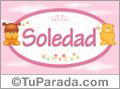 Nombre para bebé, Soledad