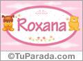 Roxana - Nombre para bebé