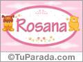 Nombre para bebé, Rosana