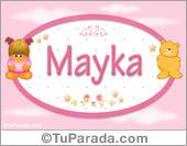 Mayka - Nombre para bebé
