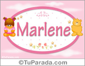 Marlene - Nombre para bebé
