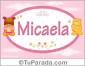 Micaela - Nombre para bebé