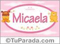Nombre para bebé, Micaela