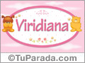 Nombre para bebé, Viridiana