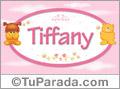 Nombre para bebé, Tiffany
