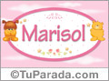Marisol - Nombre para bebé