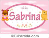 Sabrina - Nombre para bebé