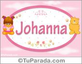 Johanna - Nombre para bebé