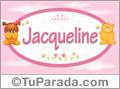 Nombre para bebé, Jacqueline