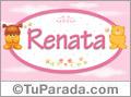 Nombre para bebé, Renata