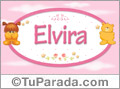 Nombre para bebé, Elvira