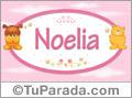 Nombre para bebé, Noelia