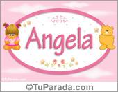 Angela - Nombre para bebé