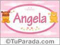 Nombre para bebé, Angela