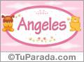 Nombre para bebé, Angeles