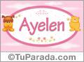 Nombre para bebé, Ayelen