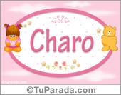 Charo - Nombre para bebé