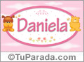 Nombre para bebé, Daniela