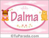 Dalma - Nombre para bebé