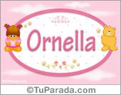 Ornella - Nombre para bebé