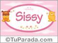 Nombre para bebé, Sissy