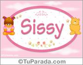 Sissy - Nombre para bebé
