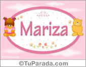 Mariza - Nombre para bebé