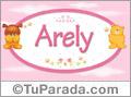 Arely - Nombre para bebé