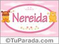 Nombre para bebé, Nereida