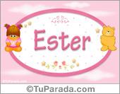 Ester - Nombre para bebé