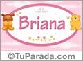 Nombre para bebé, Briana